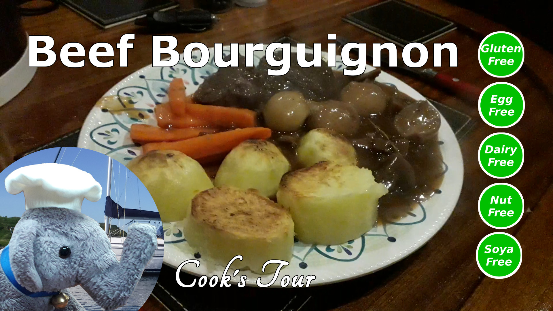 "Watch our ""Beef Bourguignon"" video and add comments"