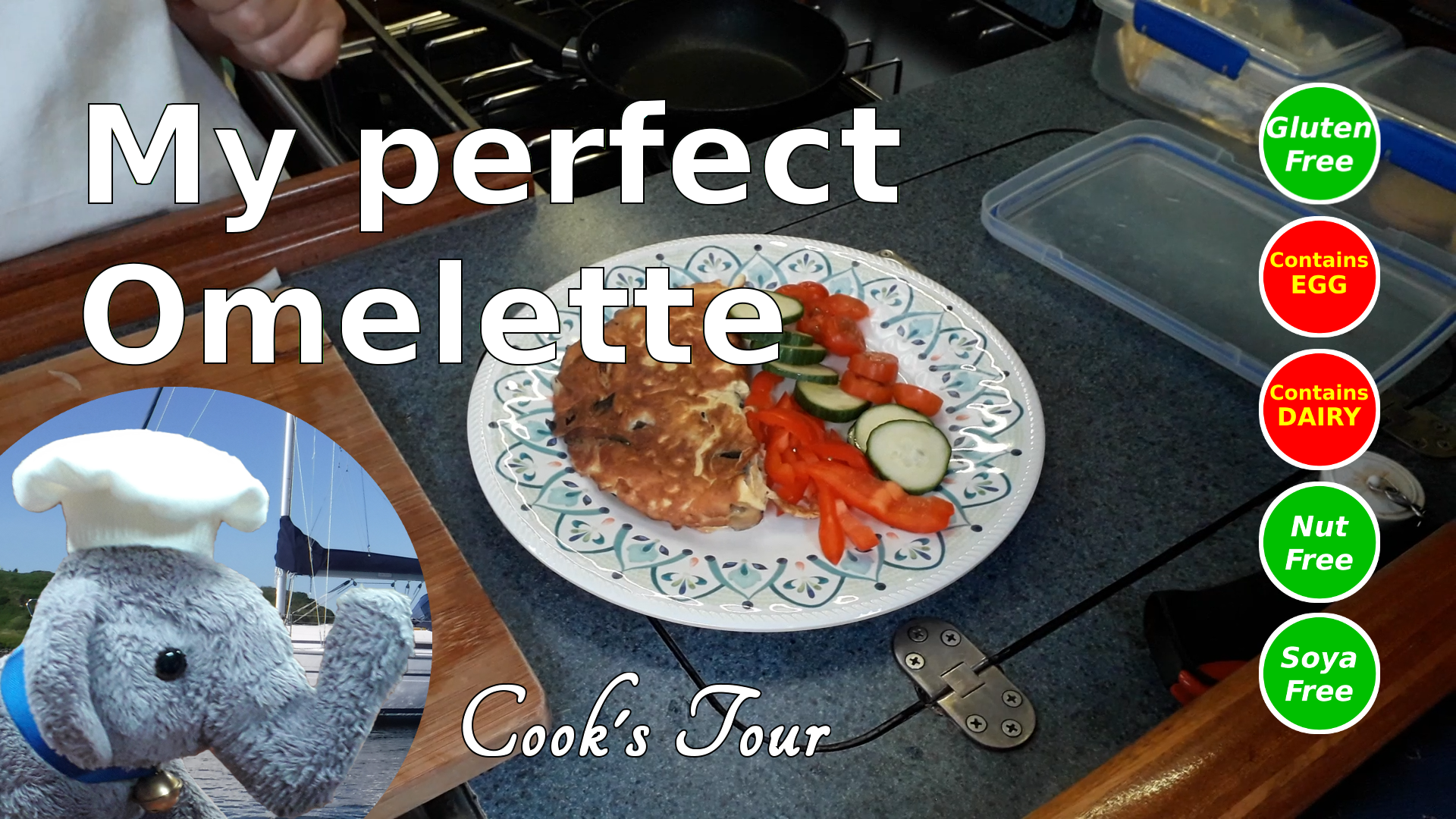 "Watch ""My perfect omelette"" and add coments etc"