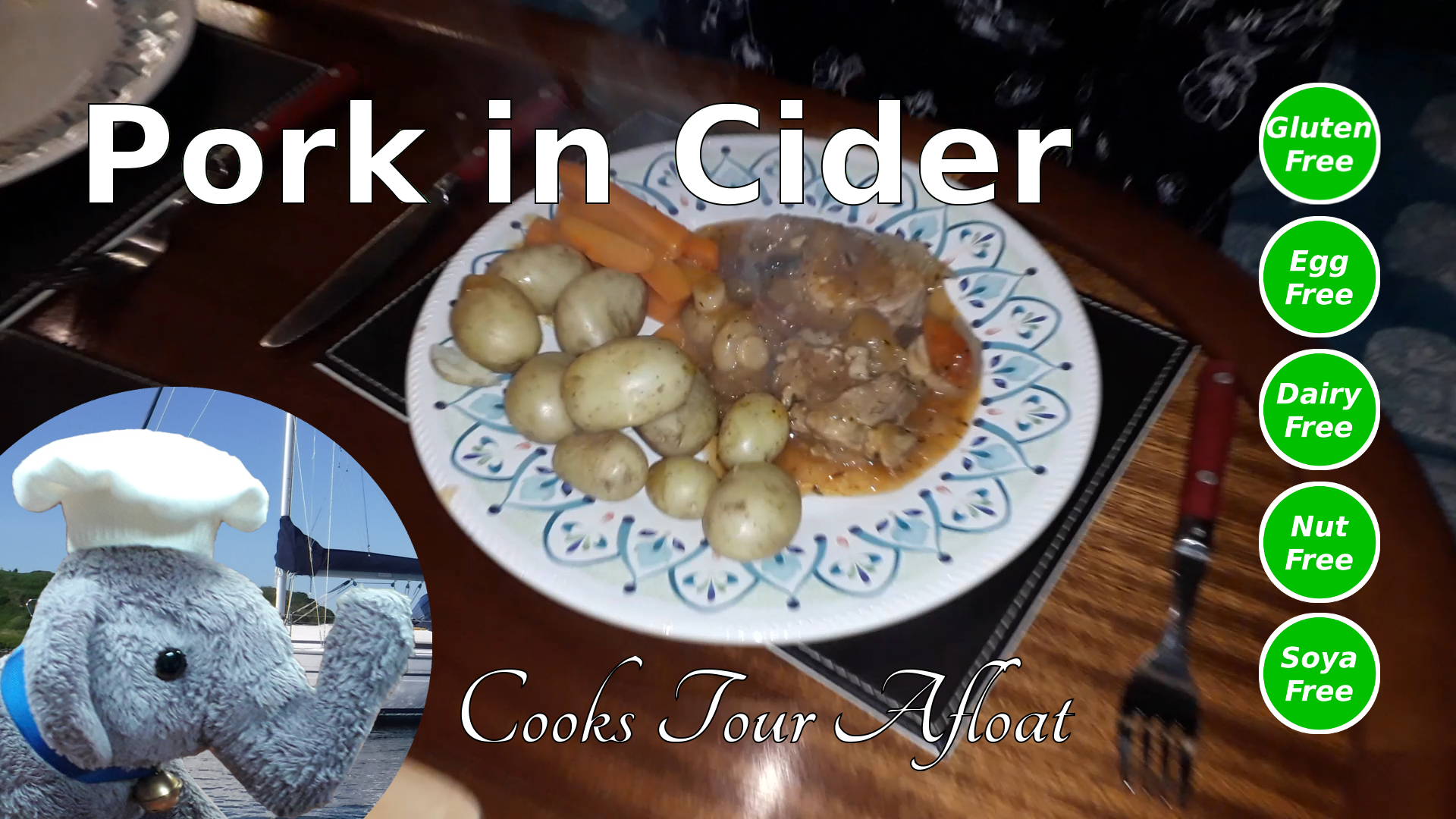 "Watch our ""Pork in Cider"" recipe and add comments"