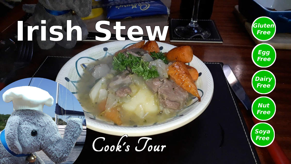 "Watch our ""Irish Stew"" video and add comments etc"