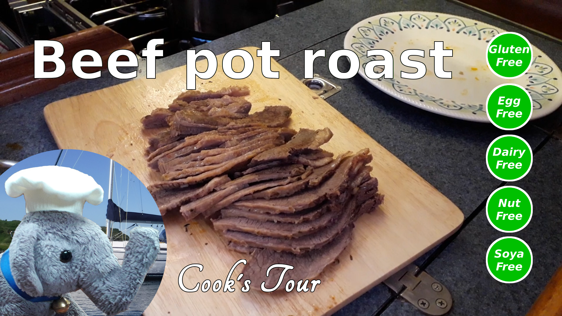 "Watch our ""Pot roast"" video and add comments etc"